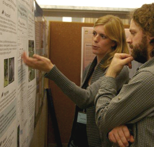 Presenting a poster at an SCO meeting